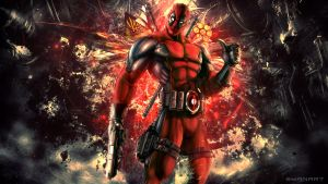 DeadPool 2013 Wallpaper by TheSyanArt