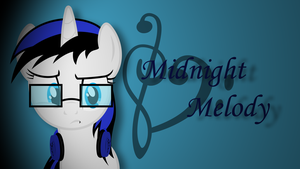 Midnight Melody Wallpaper by WizE-KevN