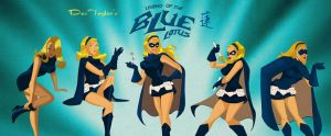 Blue Lotus Character Poses by DESPOP