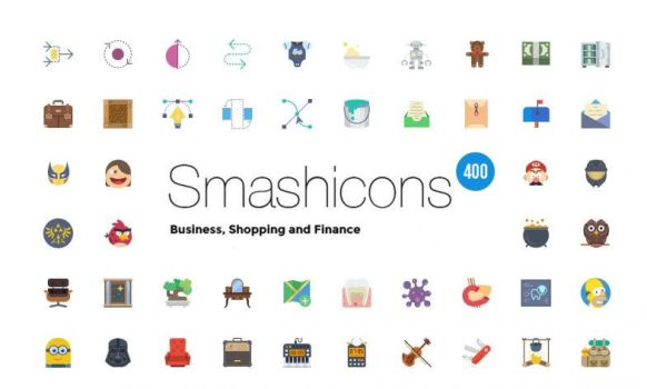 Free 400 Shop Business Finance Icons by calwincalwin