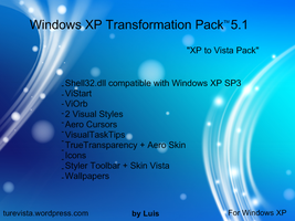 Windows XP Transformation Pack by WindowsLuis