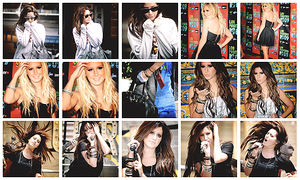 Rock it, girl -  Ashley Icons by xSparklyVampire