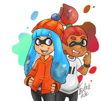 Inklings by FrightFox