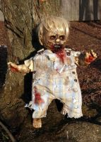 Zombie Doll Dyllan by contagiouscreations
