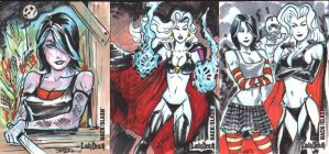 Revenant Retribution sketchcards 5finity by DJLogan
