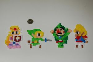 Mario Maker Toon LoZ Characters by evilpika
