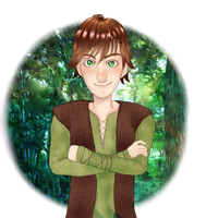 Hiccup by kobecat