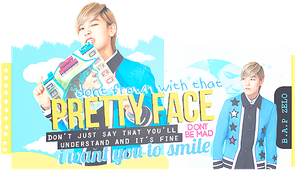Pretty Face - Zelo by CharmingFeeling