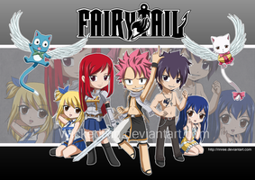 Fairy Tail Poster by WickedRin