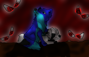 in the Dark by wolfmad123