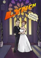 wedding comic book cover by Di---Chan