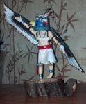 Eagle Kachina Commission by bigjc