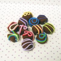 chocolate truffle charms by coonies