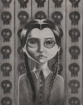 Wednesday Addams by bodaszilvia