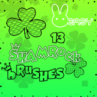 13 shamrock brushes by Galleasy