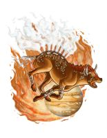 Sagittarius: The Hyena by ZodionGraphics