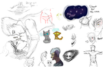 Drawpile doodles with tiggy by Forever--Tainted
