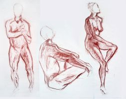 life drawing 1 by Soul-Dead