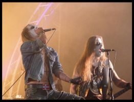 Taake - Hellfest 2012 by Wild-Huntress