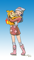I love my Chimchar by sharpjet