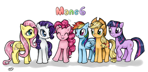 mane6 by Milk4ppl