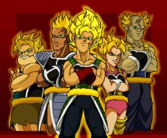 DB: Old School Super Saiyan by emif