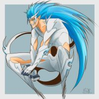 Grimmjow Hollow Color by Yami08