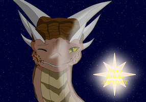 Draco happy birthday to ADFTLOVE by HeroHeart001
