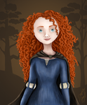 Merida by Daughter-of-Day