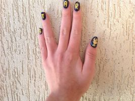 Star Trek Nail Art ~2 by whosherlokid