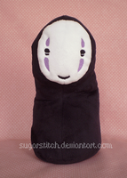 Spirited Away: No-Face by sugarstitch