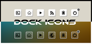 Dock icons by iacoporosso