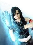 Final Fantasy VII AC Tifa cosplay by ladylucienne