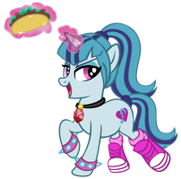 Sonata Dusk Loves Tacos by PixelKitties