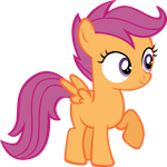 CMC Scootaloo by Original-mkcactus