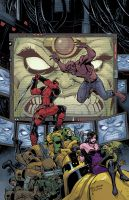 Deadpool: Dracula's Gauntlet #4 by ReillyBrown