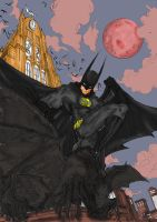 batman dark night by richrow