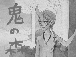 Oni no Mori preview/wip by Boywithmeese