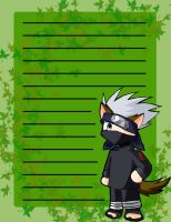 Kakashi stationary by WindyRen