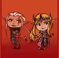 Hyrule Warriors by Cayys
