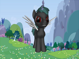 The Infinity Pony ( Journey Changeling ) by BodhiBRO