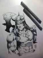 Conan Ink by MARCIOABREU7