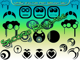m40s Vector Art Brush Set SR by theGFXedge