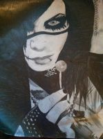 Andy Biersack by MadTheBadCat