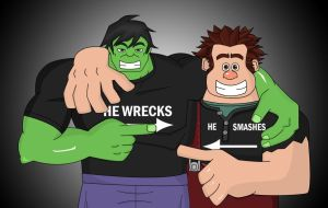 He Wrecks, He Smashes by AngelXStrider
