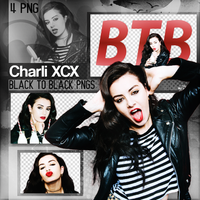 PNG Pack (32) Charli XCX by GayeBieber94
