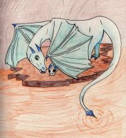 Trapped Water dragon by Flintar