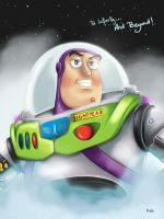 Buzz Lightyear by NikiVandermosten