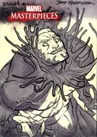 Sketch Card Commission 2 VENOM by jeffwamester