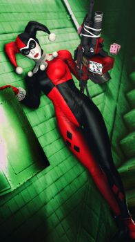 Classic Harley Quinn by 12evenZ